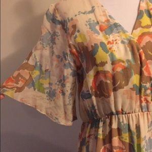 Anthropologie Sanctuary Flutter Sleeve Dress